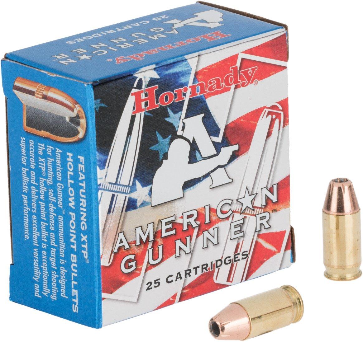 Display product reviews for Hornady XTP American Gunner 380 ACP 90-Grain Handgun Ammunition