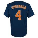 Majestic Boys' MLB Player Name and Number T-shirt