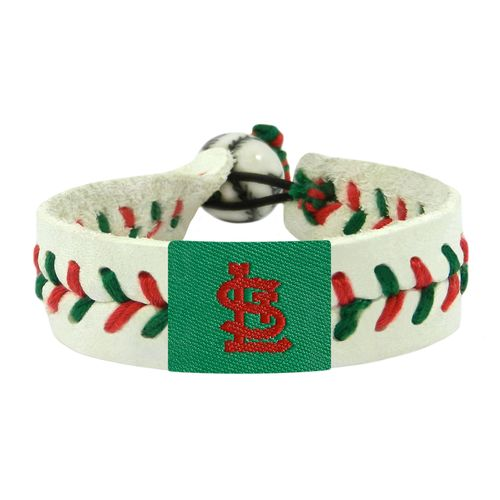 GameWear St. Louis Cardinals Holiday Baseball Bracelet