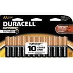 Duracell Coppertop Doublewide AA Batteries 24-Pack