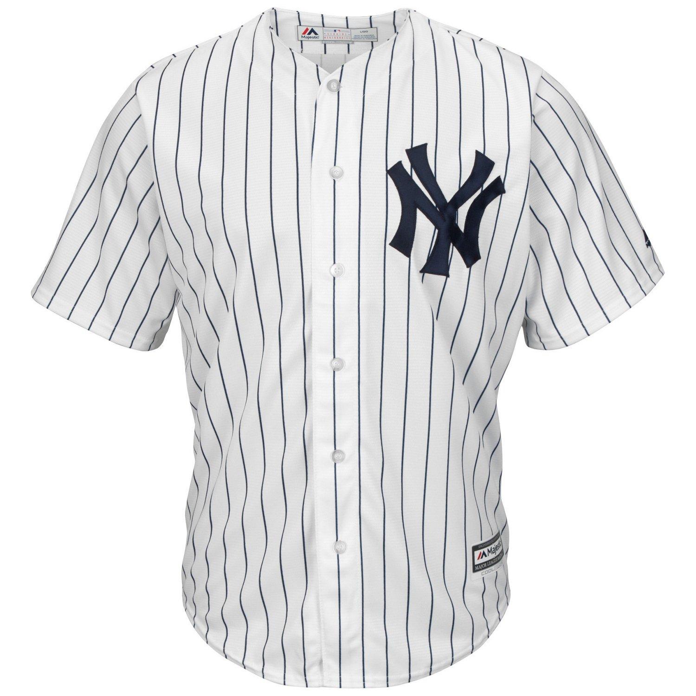 Majestic Men's New York Yankees Didi Gregorius #18 Cool Base Replica Jersey - view number 2