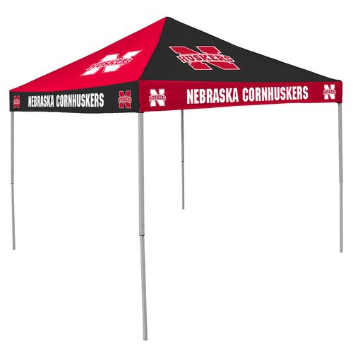Logo University of Nebraska-Lincoln Straight-Leg 9 ft x 9 ft Checkerboard Tent