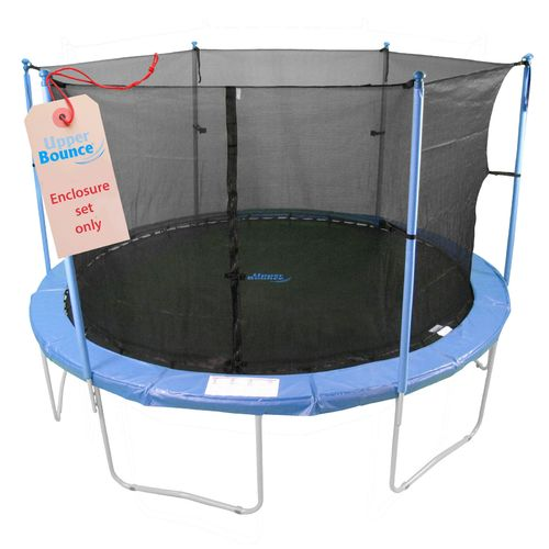 Upper Bounce® 13' Enclosure Set for Trampolines with 3 or 6 W-Shaped Legs