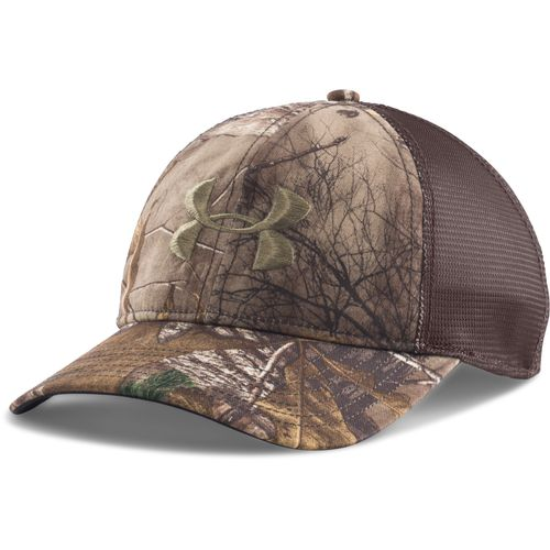 Under Armour Men's Camo Mesh Back Cap