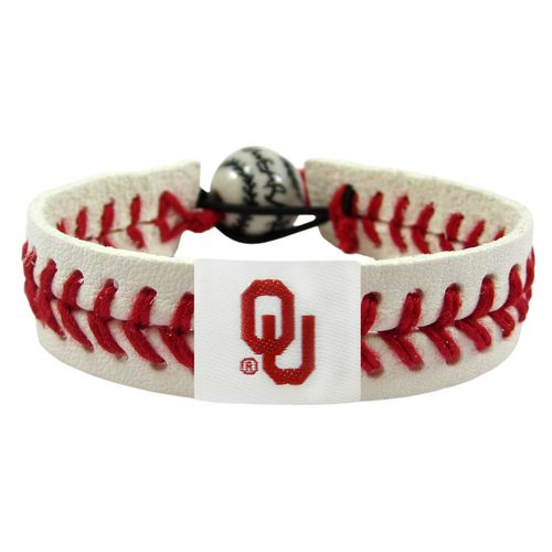 GameWear University of Oklahoma Classic Baseball Bracelet