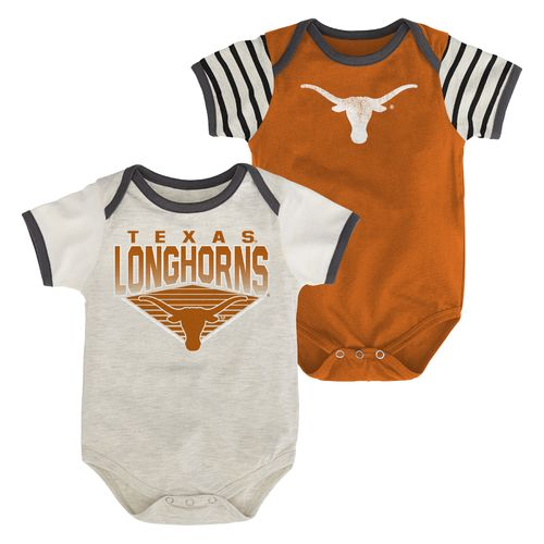 Genuine Stuff Infants' University of Texas Team Pride Onesies 2-Pack