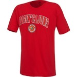 New World Graphics Men's University of Louisiana at Lafayette Arch Mascot T-shirt