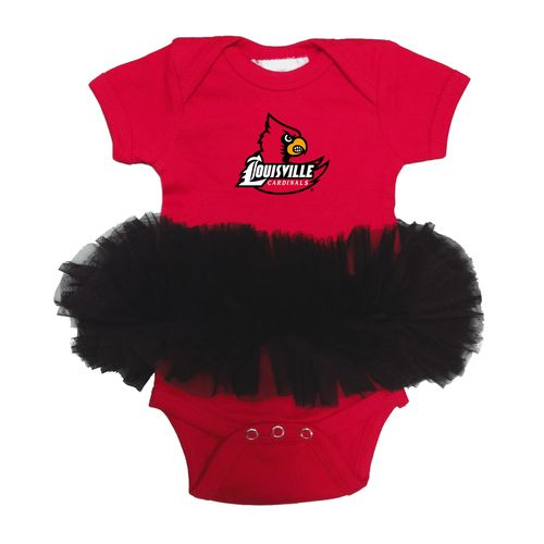Two Feet Ahead Infants' University of Louisville Tutu Creeper