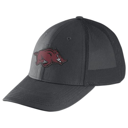Nike™ Men's University of Arkansas Dri-FIT Legacy91 Mesh Back Swoosh Flex Cap