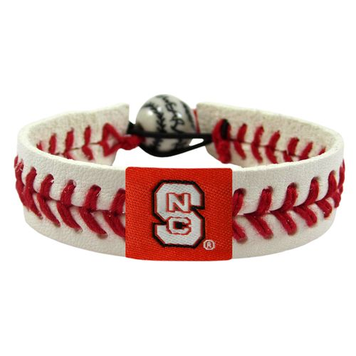 GameWear North Carolina State University Classic Baseball Bracelet