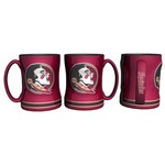 Boelter Brands Florida State University 14 oz. Relief-Style Coffee Mug