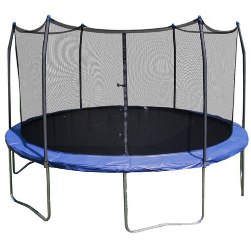 Display product reviews for Skywalker Trampolines 15' Round Trampoline with Safety Enclosure