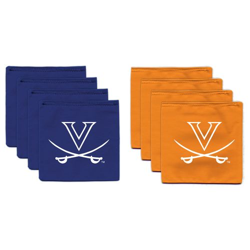 BAGGO® University of Virginia 9.5 oz. Replacement Beanbag Toss Beanbags 8-Pack