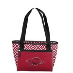 Logo Chair University of Arkansas Double Diamond 16-Can Cooler Tote