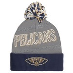 adidas Women's New Orleans Pelicans Cuffed Knit Pom Hat