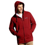 Antigua Men's Atlanta Braves Signature Full Zip Hoodie