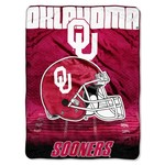 The Northwest Company University of Oklahoma Overtime Micro Raschel Throw