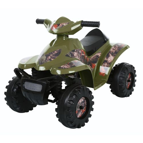 Display product reviews for RollPlay Toddler Boys' Camo Mini Quad 6V Ride-On