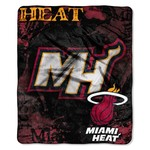The Northwest Company Miami Heat Dropdown Raschel Throw - view number 1