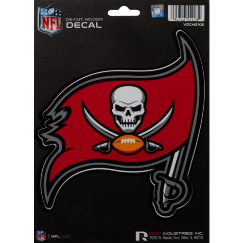 Rico Tampa Bay Buccaneers Medium Die-Cut Decal