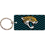 Stockdale Jacksonville Jaguars Team-Color Chevron Logo Key Chain