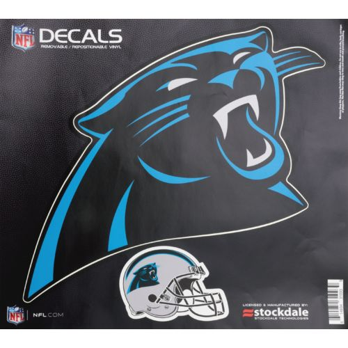 Stockdale Carolina Panthers Repositionable Vinyl Decal