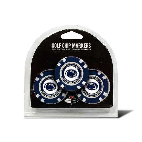 Team Golf Penn State Poker Chip and Golf Ball Marker Set