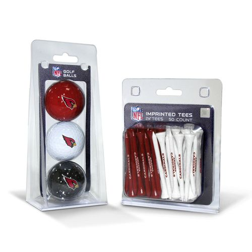 Team Golf Arizona Cardinals Golf Balls and Tees