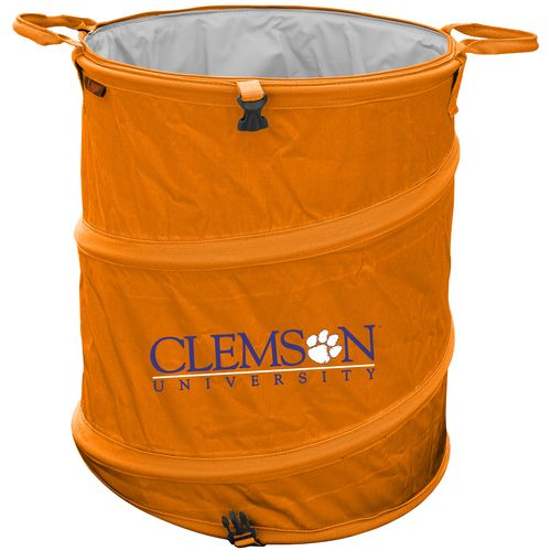 Display product reviews for Logo™ Clemson University Collapsible 3-in-1 Cooler/Hamper/Wastebasket