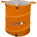 Logo™ Clemson University Collapsible 3-in-1 Cooler/Hamper/Wastebasket - view number 1