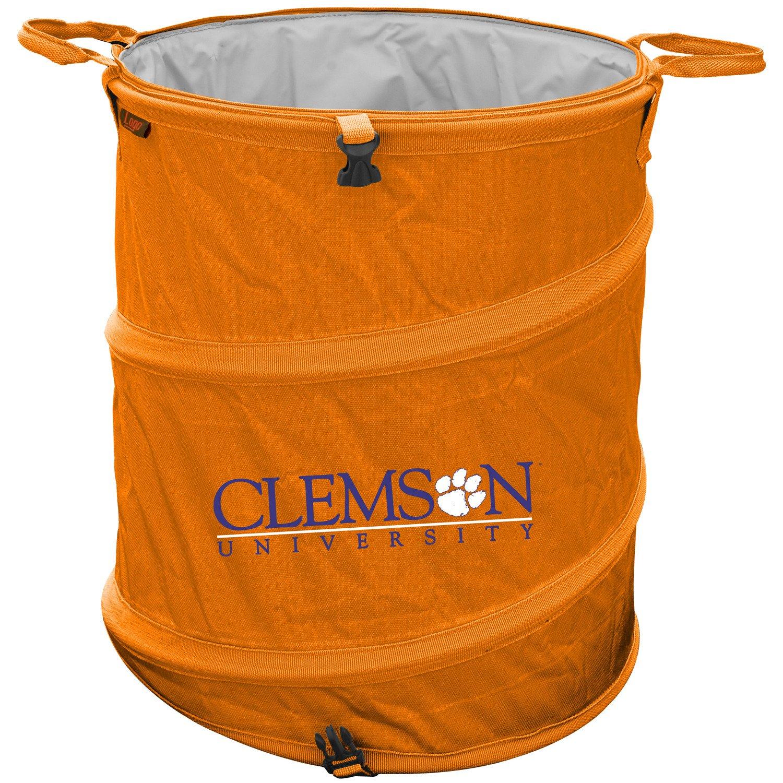 Logo Clemson University Collapsible 3-in-1 Cooler/Hamper/Wastebasket