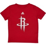 adidas Infant Boys' Houston Rockets Primary Logo Short Sleeve T-shirt