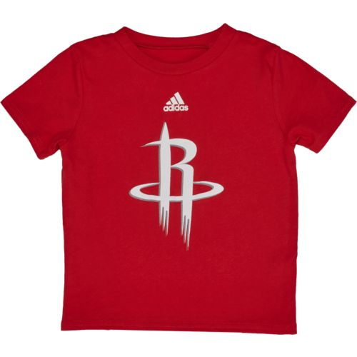 adidas™ Infant Boys' Houston Rockets Primary Logo Short Sleeve T-shirt