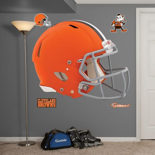 Fathead Cleveland Browns Real Big Helmet Decal