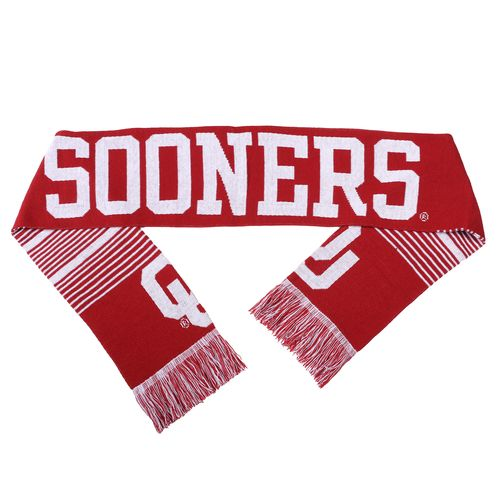 Forever Collectibles™ Adults' University of Oklahoma Reversible Split Logo Scarf