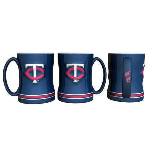Boelter Brands Minnesota Twins 14 oz. Relief Coffee Mugs 2-Pack