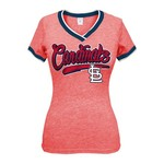 5th & Ocean Clothing Juniors' St. Louis Cardinals Triblend T-shirt