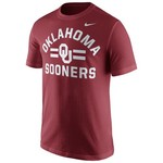 Nike Men's University of Oklahoma Short Sleeve Cotton T-shirt