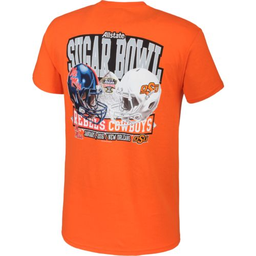New World Graphics Men's Oklahoma State University Sugar Bowl 2015 T-shirt