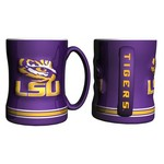 Boelter Brands Louisiana State University 14 oz. Relief Mugs 2-Pack - view number 1