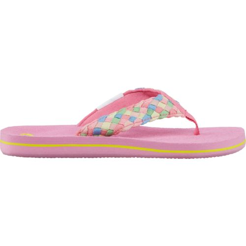 O'Rageous® Girls' Pastel Braid Sandals