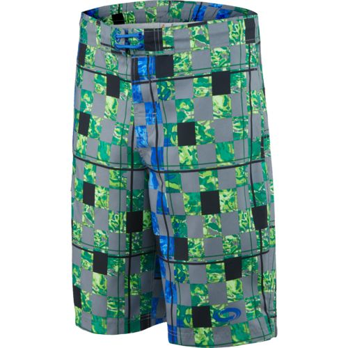 O'Rageous® Men's Abstract Checkers True Boardshort