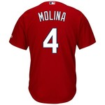 Majestic Men's St. Louis Cardinals Yadier Molina #4 Cool Base® Jersey