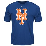 Majestic Men's New York Mets Synthetic Official Logo T-shirt