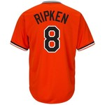 Majestic Men's Baltimore Orioles Cal Ripken Jr. #8 Cooperstown Cool Base 1965-66 Replica Jersey - view number 1