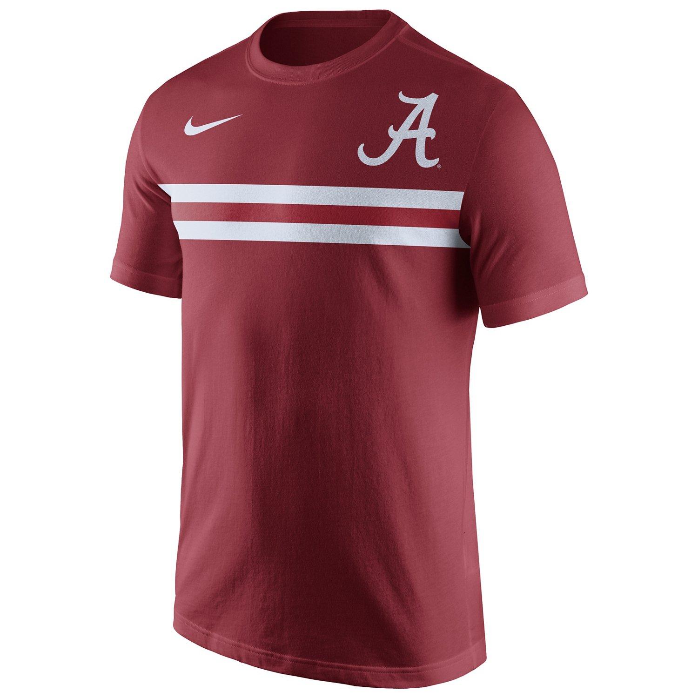 Nike Men's University of Alabama Cotton Team Stripe