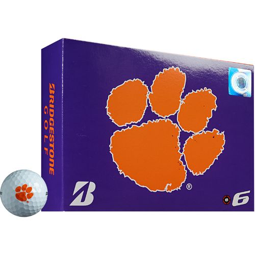 Bridgestone Golf Clemson University e6 Golf Balls 12-Pack