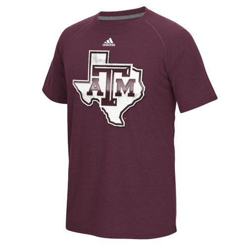 adidas™ Men's Texas A&M University Chromed Logo T-shirt