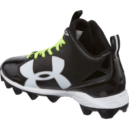 Under Armour Boys' Crusher RM Jr. Wide Football Cleats - view number 3