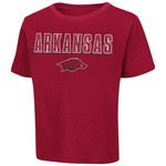 Colosseum Athletics Toddlers' University of Arkansas Dino League T-shirt